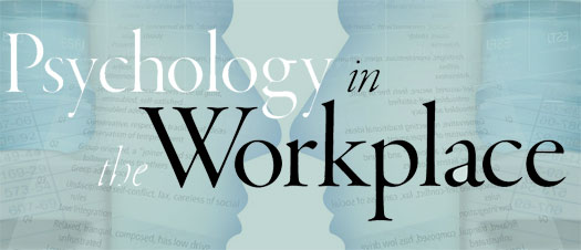 industrial psychology in the work place Industrial psychology, or organizational psychology as it is sometimes called, is a branch of psychology that studies and applies psychological theories to workplace environments.