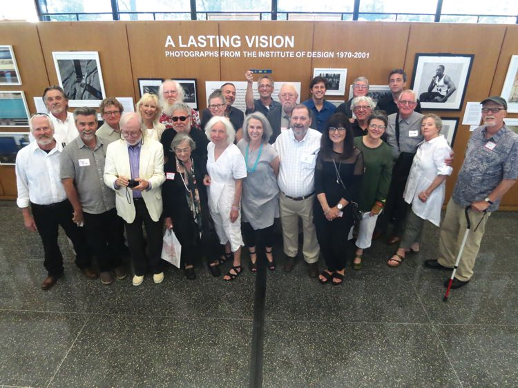 Artists at opening reception