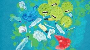 Biting into Ocean Plastics
