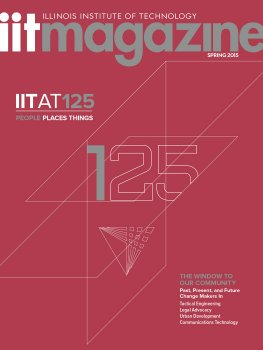IIT Magazine Cover Spring 2015